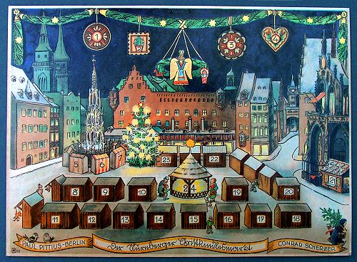 Adventskalender Nürnberger Christkindlmarkt