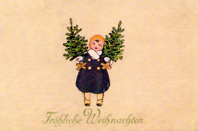 Weihnachtskarte W032 (German text)
