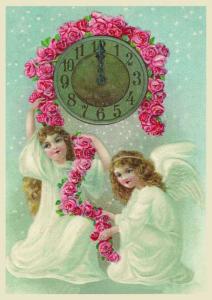 Postkarte Sortiment Weihnachten geprägt 6Wp047