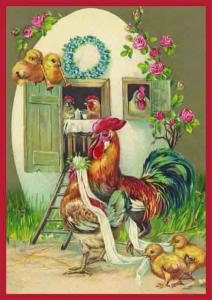 Postkartenset Ostern M10