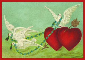 Postkartenset Herz M9