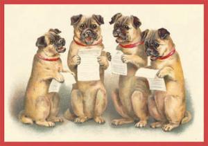 Postkartenset Hunde M7