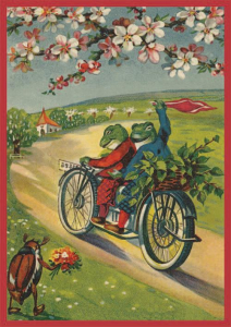 Postkartenset Frösche M8