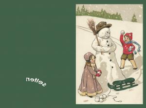 Weihnachtsanhänger  A3.1-8 (8 Motive)
