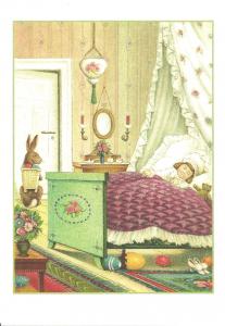 Osterpostkarten Sortiment Glückwunsch beglittert 6Gg068