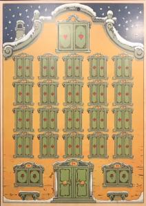 Adventkalender Haus