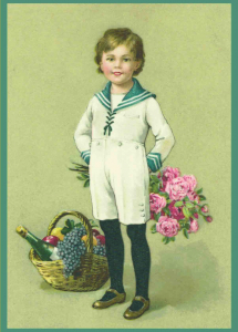 Postkartenset Blumengruß M6