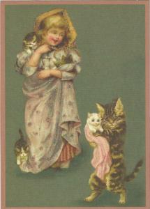 Glückwunschpostkarte beglittert 6Gg092