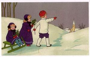 Weihnachtskarte W026