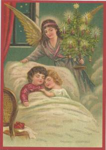 Postkarte Sortiment Weihnachten beglittert 6Wg102