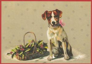 Postkarte Sortiment Weihnachten beglittert 6Wg111