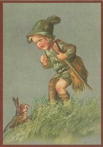 Postkarte Sortiment Glückwunsch geprägt 6Gp143