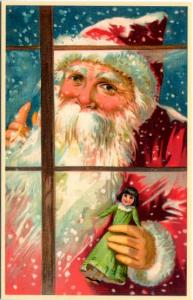 Weihnachtsmannkarte S003