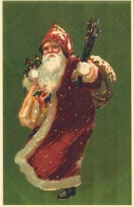 Weihnachtsmannkarte S005