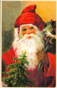 Weihnachtsmannkarte S008