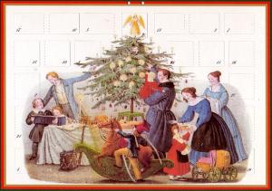 Adventskalender Heiligabend