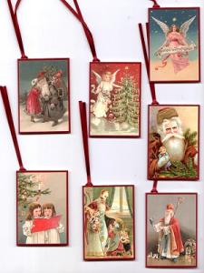 Weihnachtsanhänger: 7 Motive (lose)