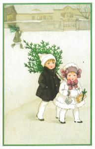 Weihnachtskarte W048