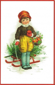 Weihnachtskarte W074