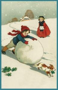 Weihnachtskarte W083