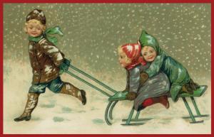 Weihnachtskarte W084