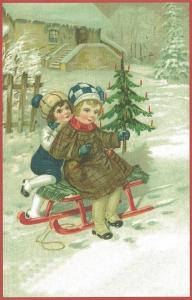Weihnachtskarte W086