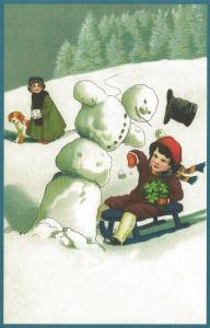 Weihnachtskarte W090