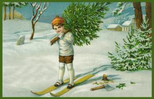 Weihnachtskarte W099
