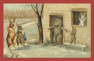Vermenschlichte Tierkarte V040