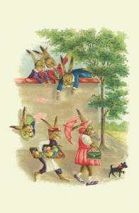 Vermenschlichte Tierkarte V055