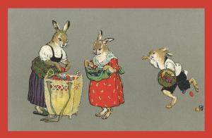 Vermenschlichte Tierkarte V058