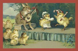 Vermenschlichte Tierkarte V064