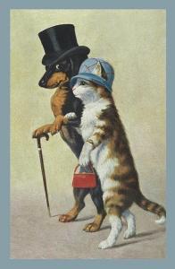 Vermenschlichte Tierkarte V080