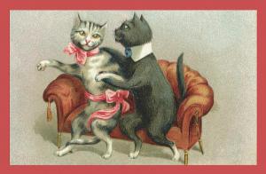 Vermenschlichte Tierkarte V087