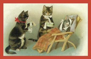 Vermenschlichte Tierkarte V088