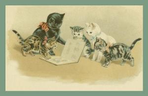 Vermenschlichte Tierkarte V089