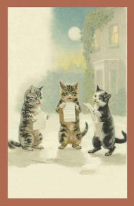Vermenschlichte Tierkarte V091