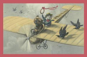 Vermenschlichte Tierkarte V093