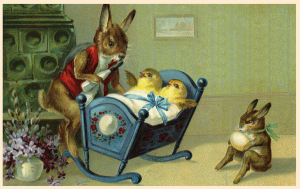 Vermenschlichte Tierkarte V024