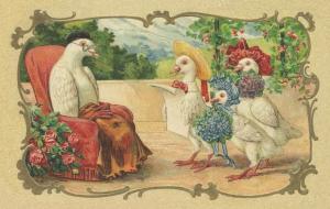 Vermenschlichte Tierkarte V030