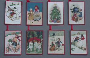 Weihnachtsanhänger 8 Motive