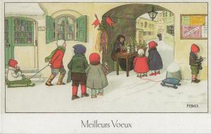 Weihnachtskarte F4 (French text)