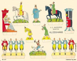 Maxipostkarte  Klods Hans - Tölpelhans Nummer 4217