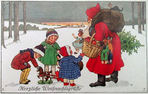 Weihnachtskarte W005 (no text)