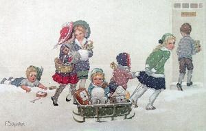 Weihnachtskarte W001 (no text)