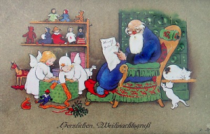 Weihnachtskarte W015 (German text)