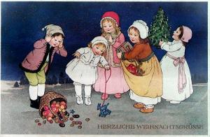 Weihnachtskarte W021 (no text)