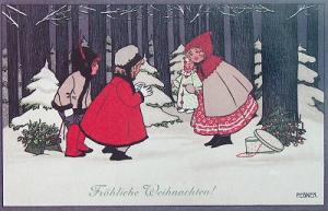 Weihnachtskarte W031 (German text)