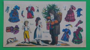 Maxipostkarte Karl, Nicolaus & Ida 4319