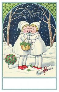 Weihnachtskarte W183